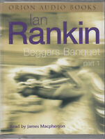 Beggars Banquet Part 1 Ian Rankin 2 Cassette Audio Book Rebus Short Stories