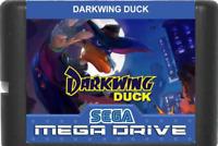 Darkwing Duck 16 bit MD Game For Sega Mega 1991 Cartridge Figure Disney Playmate