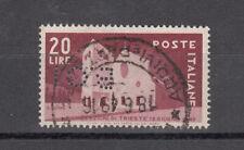 ITALIA 1949 TRIESTE PERFINS LETTERE BCI PERFORATI RARO