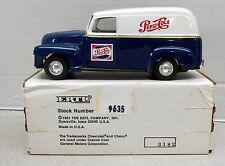 PEPSI COLA 1950 CHEV PANEL DELIVERY TRUCK DIECAST ERTL BANK #9635