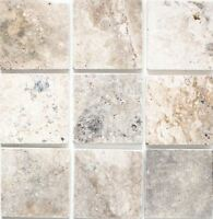 Naturstein Wand Boden Fliese Silber Antique Travertine Marmor|F-45-47010