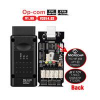 OP COM V1.99 Lettore di codice Diagnostico per GM/Opel OBD2 PIC18F458 Chip