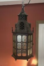 More details for arts and crafts iron lantern