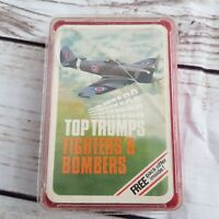 Vintage Top Trumps Fighters And Bombers