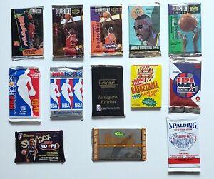 🏀1996 Upper Deck NBA Sealed Pack + Skybox Hoops Fleer Basketball Pack Lot