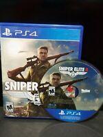 Sniper Elite 4 PlayStation 4 PS4