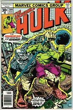 Incredible Hulk #209 (1962) - 9.4 NM *The Absorbing Man is Out For Blood*