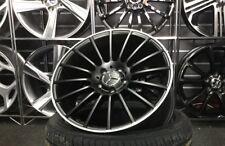 """18"""" Satin Black Mercedes AMG Style alloy wheels & 225/40/18 tyres"""