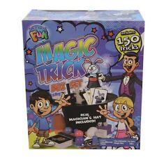 150 Tricks Magic Show Set Kids Creative Boys Girls Magician Top Hat Fun Kit Pack