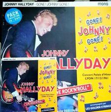 "JONHNNY HALLYDAY "" GONE JOHNNY GONE "" live"" LYON  1961 PACKCOLLECTOR VINYL + CD"