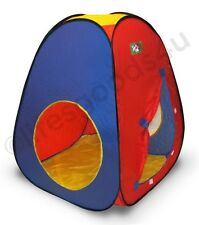 NEW PORTABLE FOLDING POP UP PLAY TENT CHILDRENS KIDS PLAYHOUSE PARADISE PLAYHUT.