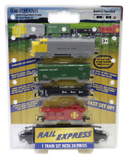NIB HO Bachmann #00958 Battery Operated Rail Express Train Set