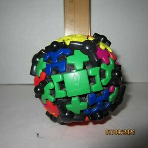 Meffert's Gear Ball Brainteaser Puzzle Multi Color Game