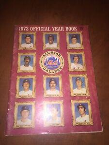 New York Mets 1973 Official Yearbook - Vintage baseball Seaver Mays