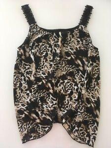 orig. KENSIE Sommer Shirt, Top, Tank, leopard, Gr.S, NEU