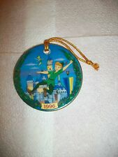 1996 A HOLIDAY TRADITION PETER PAN DISNEYLAND CHRISTMAS Ornament Rare