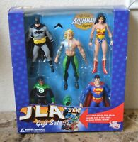 New Sealed JLA 5 action figure Gift Set DC Direct  48 page comic