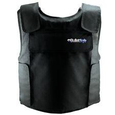BulletSafe Bulletproof IIIA Vest BLACK