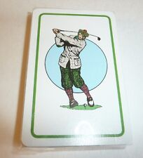Golf Themed Deck of Playing Cards - SEALED Hampton Direct Inc Quick Sand Cartoon