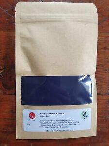 Indigo Natural Plant Dye Powder (Indigo Blue) 50g - 100% Natural