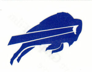 REFLECTIVE Buffalo Bills fire helmet decal sticker up to 12 inches