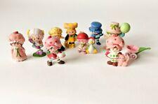 Vintage Strawberry Shortcake Miniatures Plastic Figures Lot