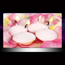 6PCS Floating Candles Tea wax Wedding Party Romantic Candles Home Decor