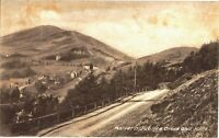 Postcard Malvern Jubilee Drive and Hills Worcestershire Unposted Tilley & Son