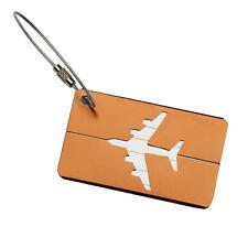 Wholesale Coffee Travel Luggage Baggage Tag Suitcase Identity Address Name Label