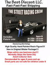 Street Racing Crew IV American Diorama 1:18 Resin Figure