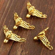 4pcs Furniture Wood Gift Case Chest Jewelry Box Feet Leg Corner Protector Guard