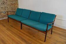 Ole Wanscher Danish Mid Century Modern RARE Rosewood Four Seat Sofa