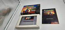 Jeu Super Nintendo SNES Lemmings complet USA