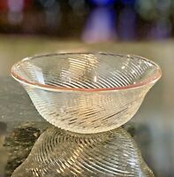 "MIKASA Crystal Scalagold Dessert Bowls 5 1/4"" W Germany Set of 4 NEW IN BOX"