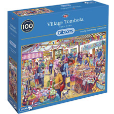 Gibsons Village Tombola Jigsaw - 1000 Piece Puzzle (G6254)