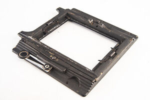 Vintage Graflex Crown Speed Graphic Spring Back and Mounting Frame V13