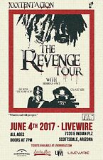 """XXXTENTACION """"REVENGE TOUR"""" 2017 PHOENIX CONCERT POSTER-Hip Hop, Trap, R&B Music"""