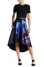 Ted Baker London Womens Kaelyne Hi Low Skirt Size S