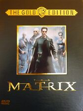 The Matrix - 2 DVD CDA Gold Edition Collector's Box Set *RARE OOP*