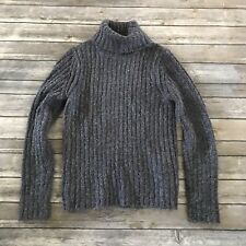 Royal Robbins Womens Purple Ribbed Turtleneck Long Sleeve Sweater Small