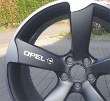 6x Opel Aufkleber für Räder Emblem Logo Cors Astra Zafira Insignia Vectra...