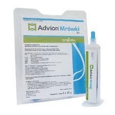 Advion gel 30g ant bait pioson de fourmi Syngenta indoksakarb 1 pcs Ameisengift