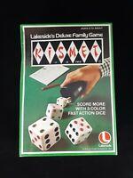 VTG 1975 Kismet Dice Game Lakeside's Deluxe Family Game Leisure Dynamics NOS