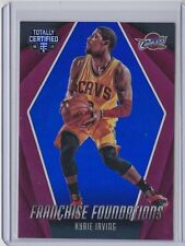 Kyrie Irving 2016-17 Panini Totally Certified Franchise Foundations Blue /99