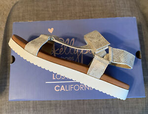 Jellypops Ladies Quests Sandals - Champagne- Size 7.5M - Brand New!