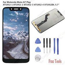 Nero per Motorola MOTO G7 Play XT1952-4 XT1952DL LCD Display Touch Screen aaaus