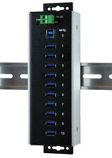 ExSys EX-1110HMVS-WT - USB 3.1 (Gen1) metallo HUB 10 Porte 40°C fino +85°C)