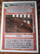 SWCCG Obi-Wan's Cape UNLIMITED PREMIERE Moderately Played STAR CARDS