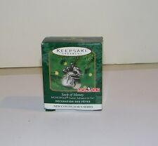 Hallmark 2000 Monopoly Sack Of Money Game Advance To Go Miniature Ornament NEW