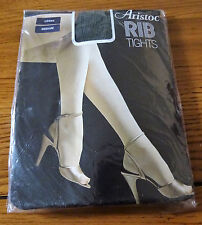 Vintage Aristoc Rib Tights Loden Medium
